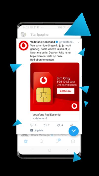 (In het geval van het voorbeeld hierboven heeft Much More deze 'Text Ads' niet opgezet voor de bedrijven in het voorbeeld. Deze afbeelding hierboven is alleen bedoelt als een voorbeeld van een 'Text Ad' en niks meer)
