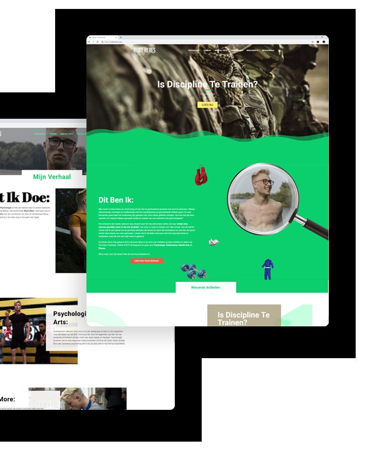 website voorbeeld 4